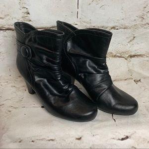 Madden Girl Black Mini Boots